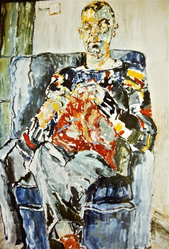Live portrait commission.